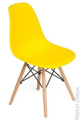 Стул Secret De Maison Cindy (EAMES) (mod. 001) Жёлтый